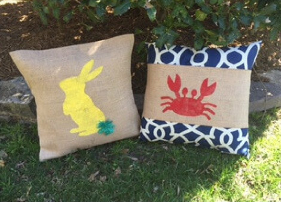 Simple and Sweet Pillows