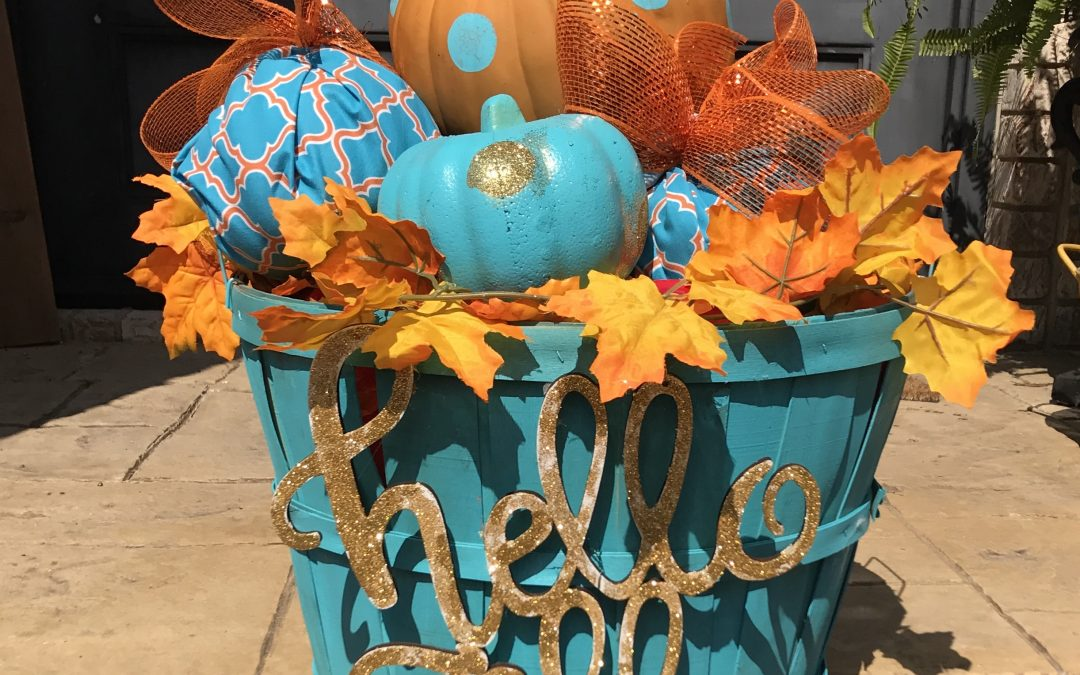 Fall Basket Love