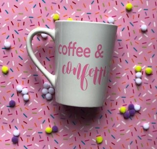 Coffee & Confetti SVG