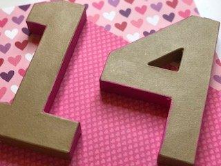 "Valetine's Day ""14"" Decor"