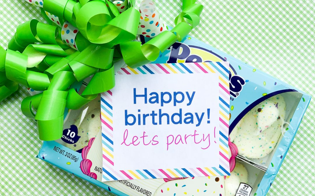 Let's Party Printable