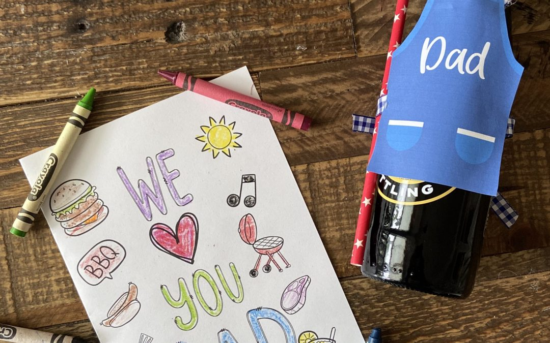 Color it! Father's Day Card
