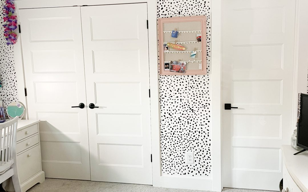 Teen Girl Mini Bedroom Makeover